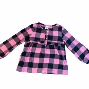 ✨3 for $30✨NEW Carter's Plaid long sleeve shirt 3T